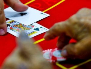 strategy of doubling down on blackjack